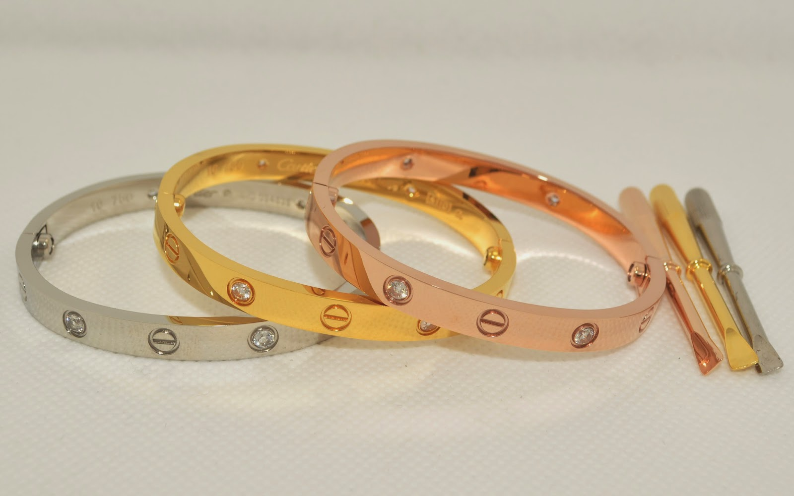 910239c2b247 I doubt replica Cartier Love bracelet would do one in sterling as it might  make people say why spend for it in white gold or platinum.