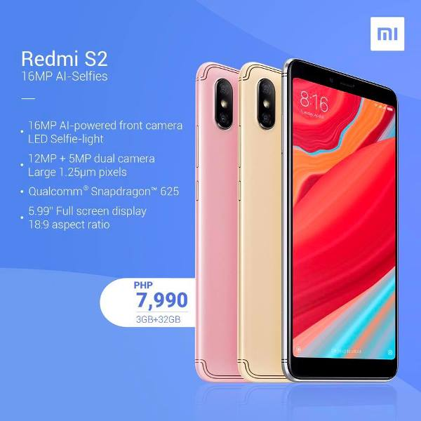 Xiaomi Redmi S2 Now Available in Limited Stocks!