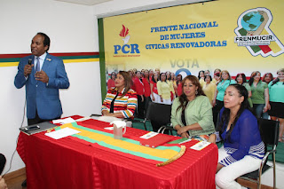 Relanzan Frente Nacional Mujeres Cívicas Renovadoras