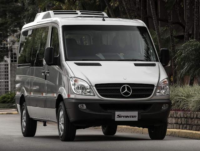Mercedes-Benz Sprinter - Carro de Jair Bolsonaro