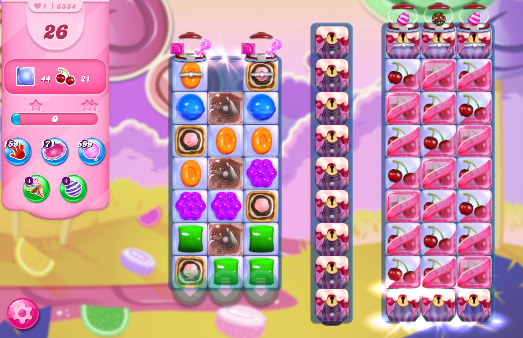 Candy Crush Saga level 6384