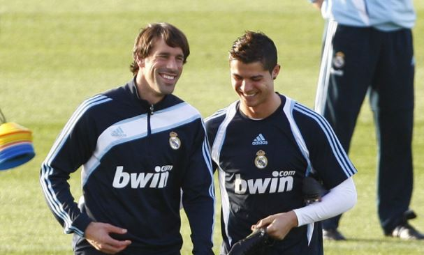 Van Nistelrooy was forced out of Manchester United for upsetting Cristiano Ronaldo