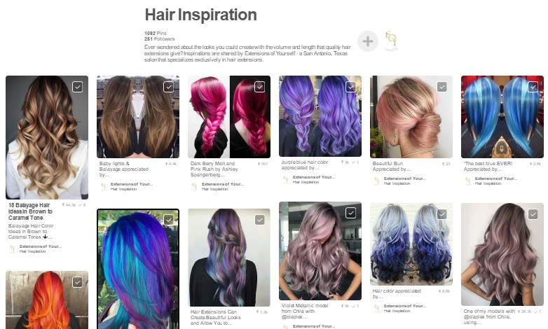 Extensions of yourself recommended hairstyles for women with hair hair inspiration and tips for fuller hair are boards i think youll like ill be adding new pins to them daily so please join extensions of yourself on solutioingenieria Images