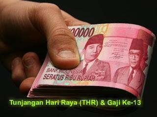 Peraturan Menteri Keuangan Tentang Teknis Pembayaran THR dan Gaji ke-13