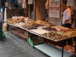 Dolci israeliani - mercato di Gerusalemme