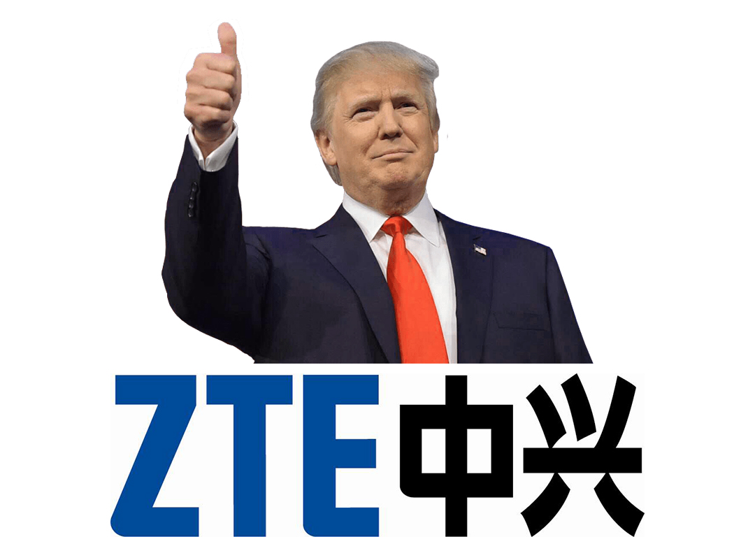 US President Donald Trump Working With China To Help ZTE Get Back Into Business