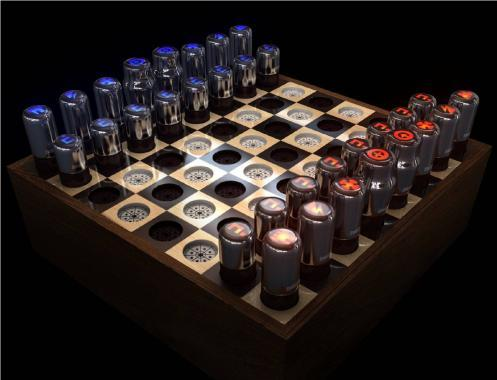 20 creative and unusual chess sets. Black Bedroom Furniture Sets. Home Design Ideas