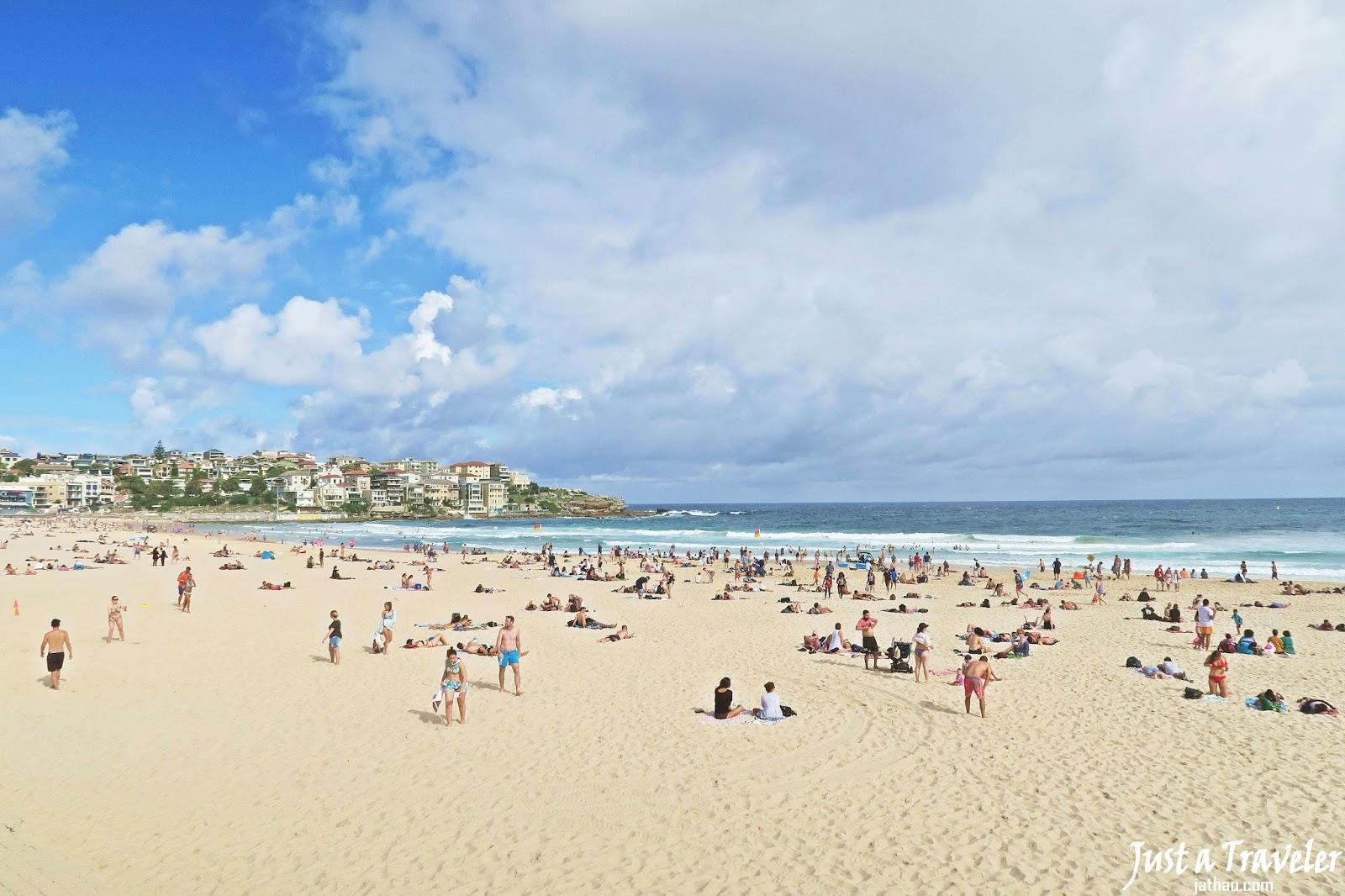 雪梨-景點-推薦-邦代海灘-旅遊-自由行-澳洲-Sydney-Bondi-Beach-Travel-Australia
