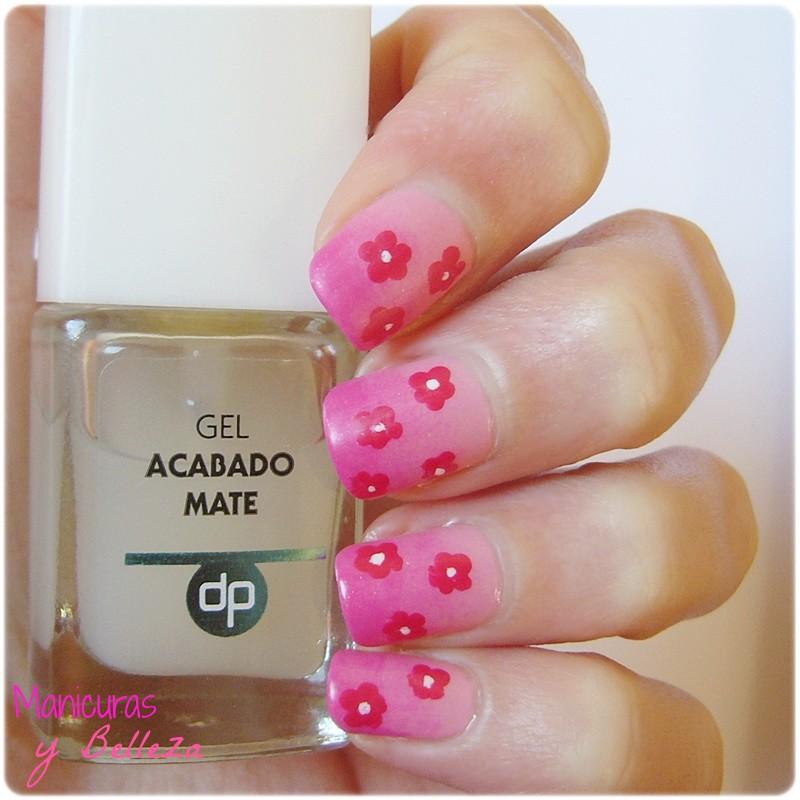 Manicuras Y Belleza Nail Art Degradado Primaveral Como Hacer
