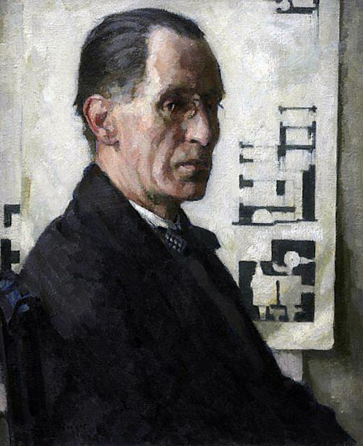 William Mackay Mackenzie, Self Portrait, Scottish Painter, International Art Gallery, Portrait Fine arts