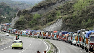 jammu-srinagar-highway-to-be-closed-for-two-days-a-week-for-general-public