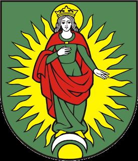 Dame-ermite  Pezinok-erb