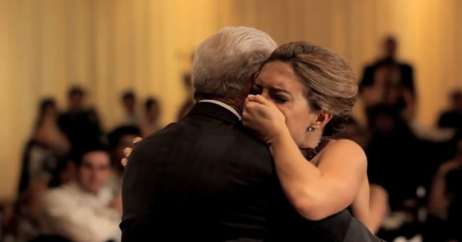 Her dad died months before her wedding she loses it when her brother tells her to turn around