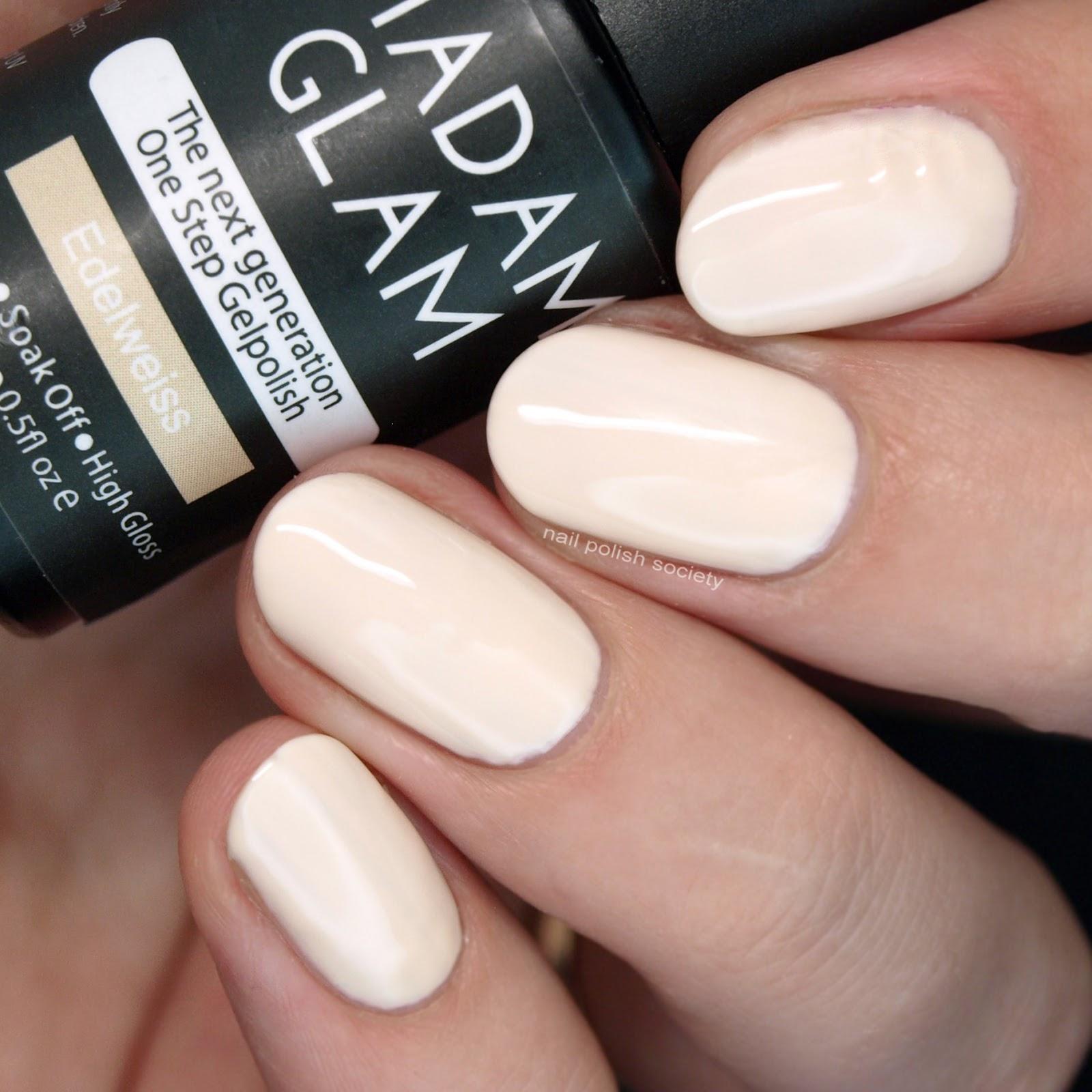 Nail Polish Society: Madam Glam One-Step Gel Polish Swatch and Review