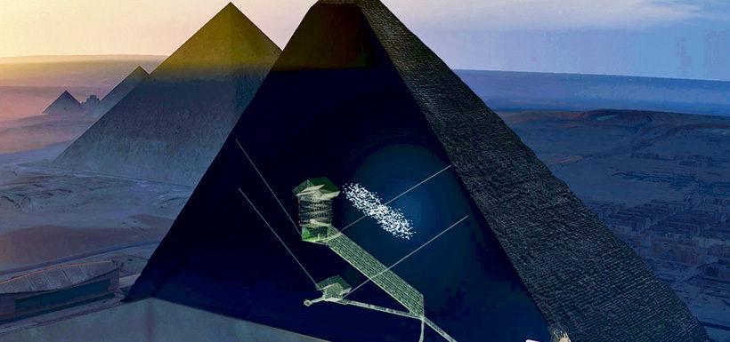 Descubierta una cámara' oculta dentro de la Gran Pirámide Imagen-342871-01-07-820x385