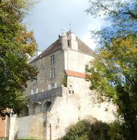 Vue chateau de Frontenay