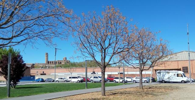 Estacionament en Lleida