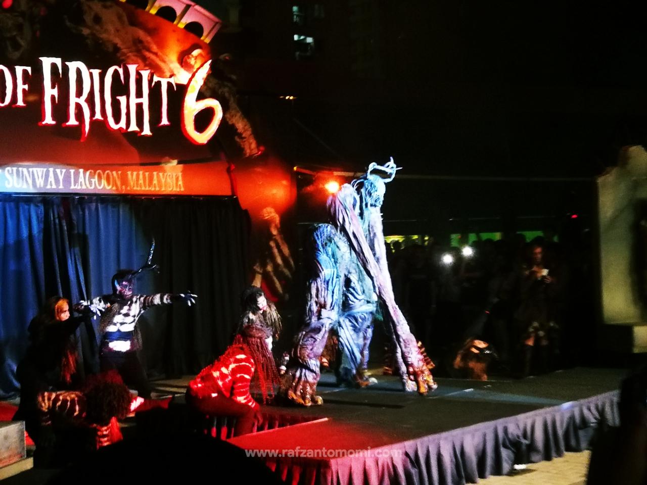Pengalaman Ke Night Of Fright 6, Sunway Lagoon