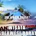 kota destinasi tempat wisata terbaik populer terkenal di sulawesi barat