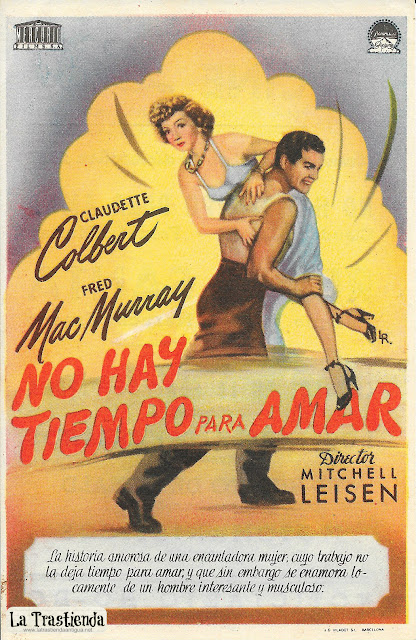 No Hay Tiempo para Amar - Programa de Cine - Claudette Colbert - Fred MacMurray