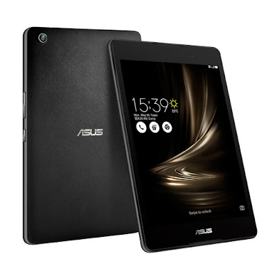 Asus Zenpad 3 8.0 Z581KL Specifications - LAUNCH Announced 2016, December DISPLAY Type IPS LCD capacitive touchscreen, 16M colors Size 7.9 inches (~69.0% screen-to-body ratio) Resolution 1536 x 2048 pixels (~324 ppi pixel density) Multitouch Yes BODY Dimensions 205.4 x 136.4 x 7.6 mm (8.09 x 5.37 x 0.30 in) Weight 320 g (11.29 oz) SIM Micro-SIM PLATFORM OS Android OS, v6.0 (Marshmallow) CPU Hexa-core (4x1.4 GHz Cortex-A53 & 2x1.8 GHz Cortex-A72) Chipset Qualcomm MSM8956 Snapdragon 650 GPU Adreno 510 MEMORY Card slot microSD, up to 256 GB Internal 32 GB, 4 GB RAM CAMERA Primary 8 MP Secondary 2 MP Features Geo-tagging Video 1080p@30fps NETWORK Technology GSM / HSPA / LTE 2G bands GSM 850 / 900 / 1800 / 1900 3G bands HSDPA 850 / 900 / 2100 4G bands LTE band 1(2100), 3(1800), 5(850), 7(2600), 18(800), 20(800), 26(850), 28(700), 38(2600), 41(2500) Speed HSPA 42.2/5.76 Mbps, LTE-A (2CA) Cat6 300/50 Mbps GPRS Yes EDGE Yes COMMS WLAN Wi-Fi 802.11 a/b/g/n/ac, dual-band, WiFi Direct, hotspot GPS Yes, with A-GPS, GLONASS USB Type-C 1.0 reversible connector Radio No Bluetooth v4.1, A2DP, LE, aptX FEATURES Sensors Accelerometer, gyro, proximity, compass Messaging SMS(threaded view), MMS, Email, Push Mail, IM Browser HTML5 Java No SOUND Alert types Vibration; MP3, WAV ringtones Loudspeaker Yes, with stereo speakers 3.5mm jack Yes  - 24-bit/192kHz audio - DTS sound enhancement - DTS headphone X BATTERY  Non-removable Li-Po 4680 mAh battery (18 Wh) Stand-by  Talk time Up to 10 h (multimedia) Music play  MISC Colors Black  - Google Drive (100 GB cloud storage) - MP3/WAV/eAAC+ player - MP4/H.264 player - Document viewer - Photo/video editor