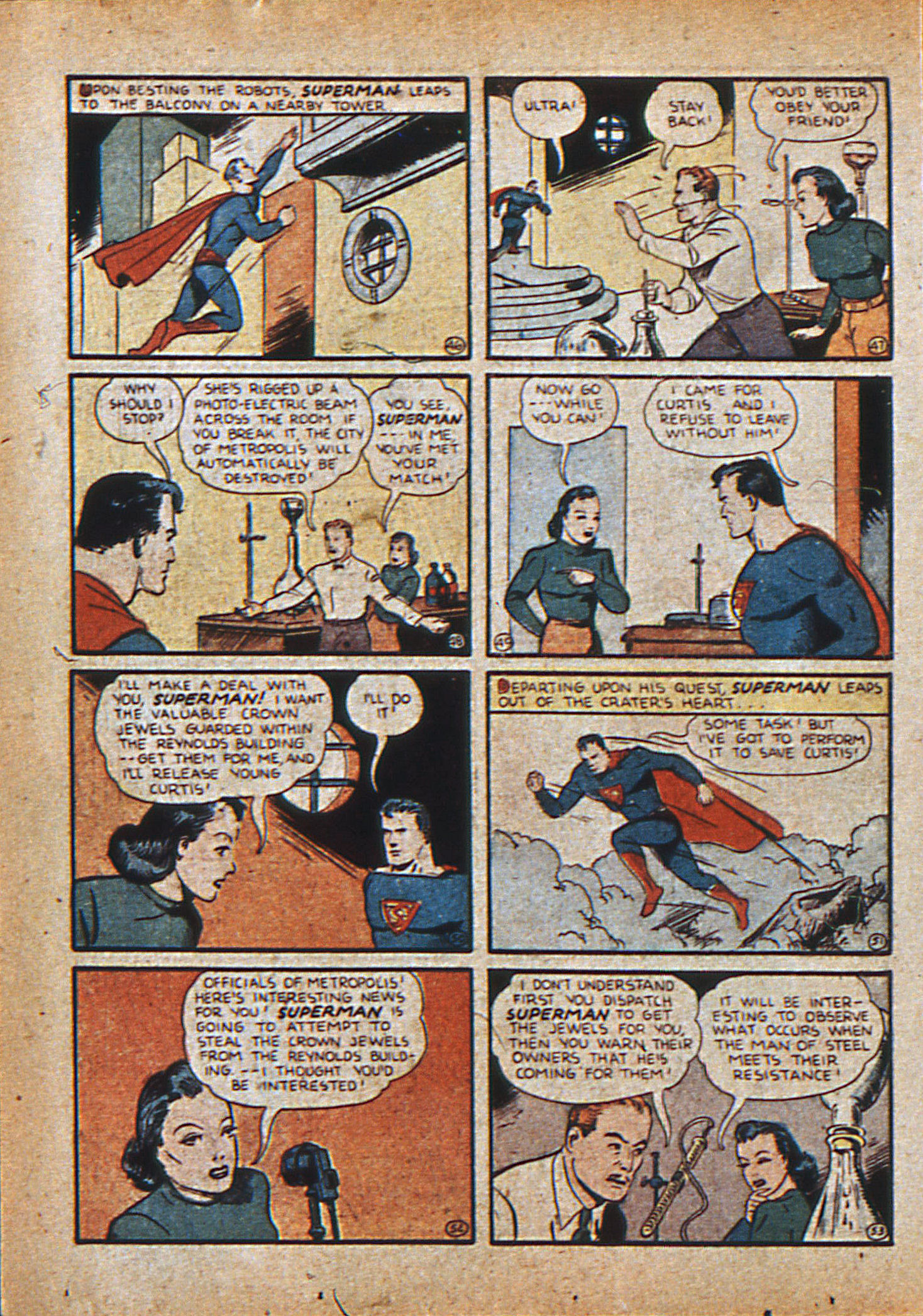 Read online Action Comics (1938) comic -  Issue #21 - 11