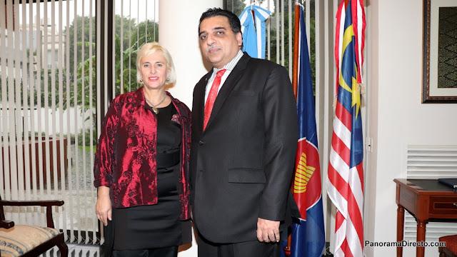 ARFA2018 se presentó con éxito en la Embajada de Malasia