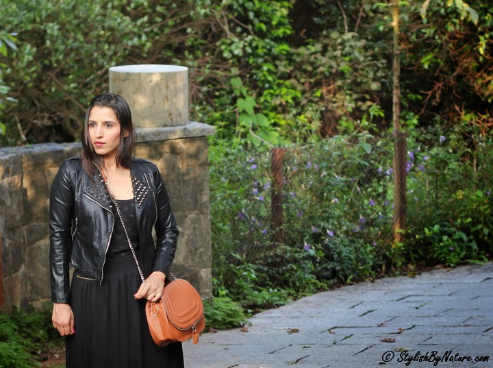 Leather jacket fall india
