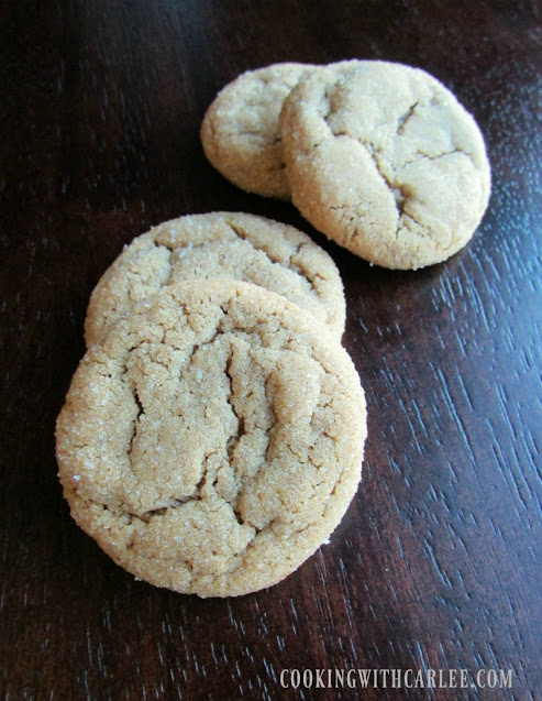 crackly chewy molasses spice cookies