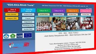Tools EDS/M-RKS/M-RKT-RKAS/M Alat Bantu Penyusunan EDS RKS RKAS SD/MI