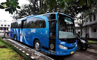 Penumpang Bus Damri di Kota Bandung Akan Mendapatkan Ceramah Agama