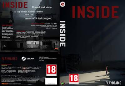Jogo Inside PC DVD Capa