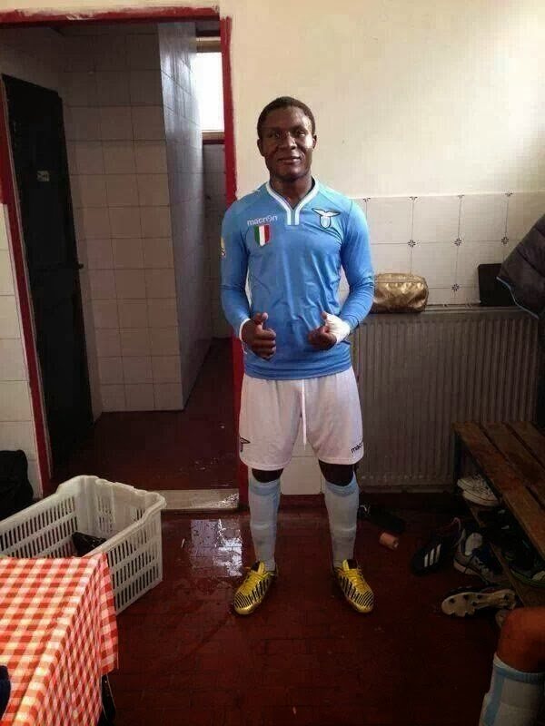 Is he truly 17? Lazio youth prospect Joseph Minala from Cameroon [Picture]