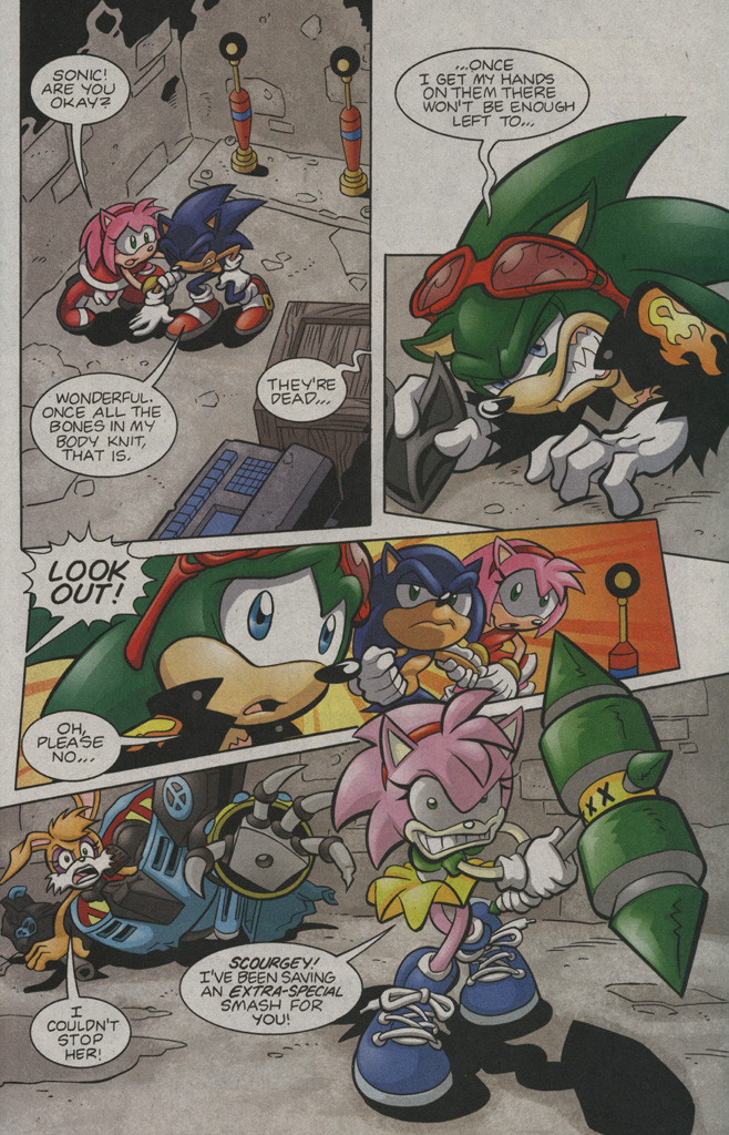 Read online Sonic The Hedgehog comic -  Issue #194 - 19