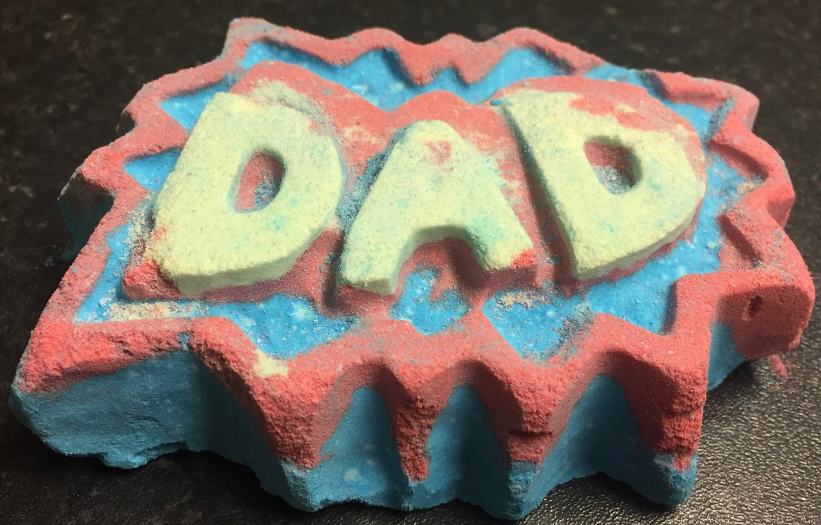 All Things Lush UK Superdad Bath Bomb