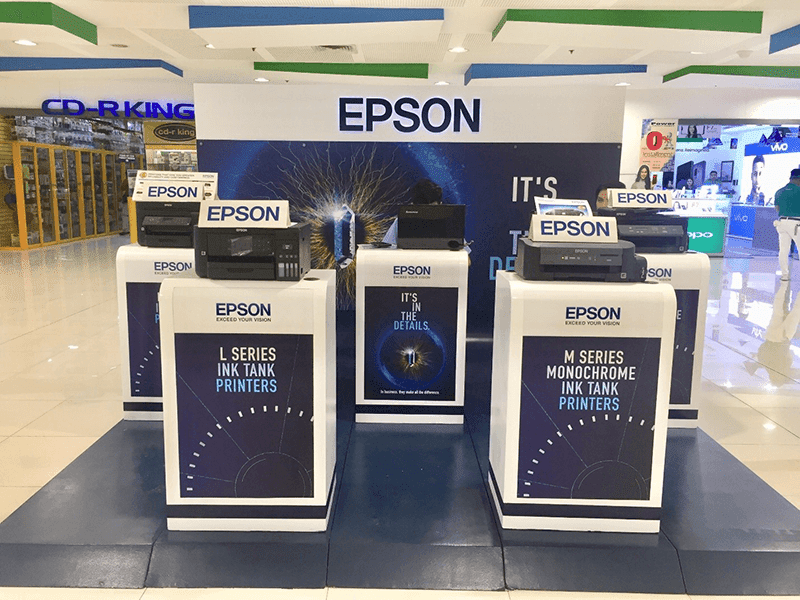 Epson PH launch the It's in the Details Nationwide Roadshow 2018