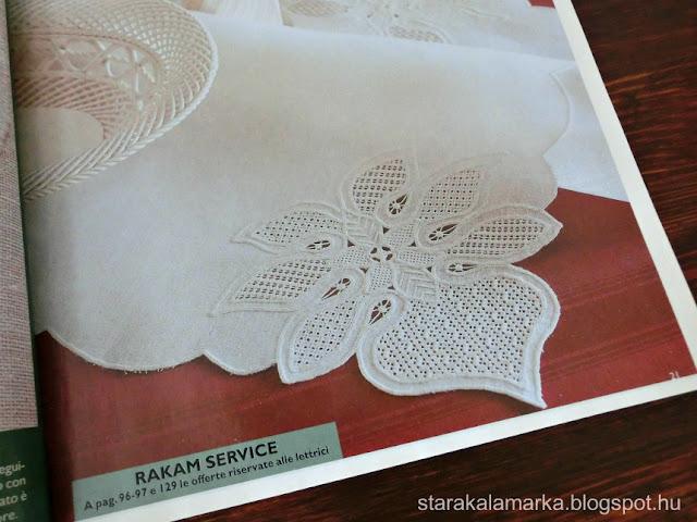 журнал RAKAM, ракам, книги и журналы по вышивке, иностранные журналы по вышивке