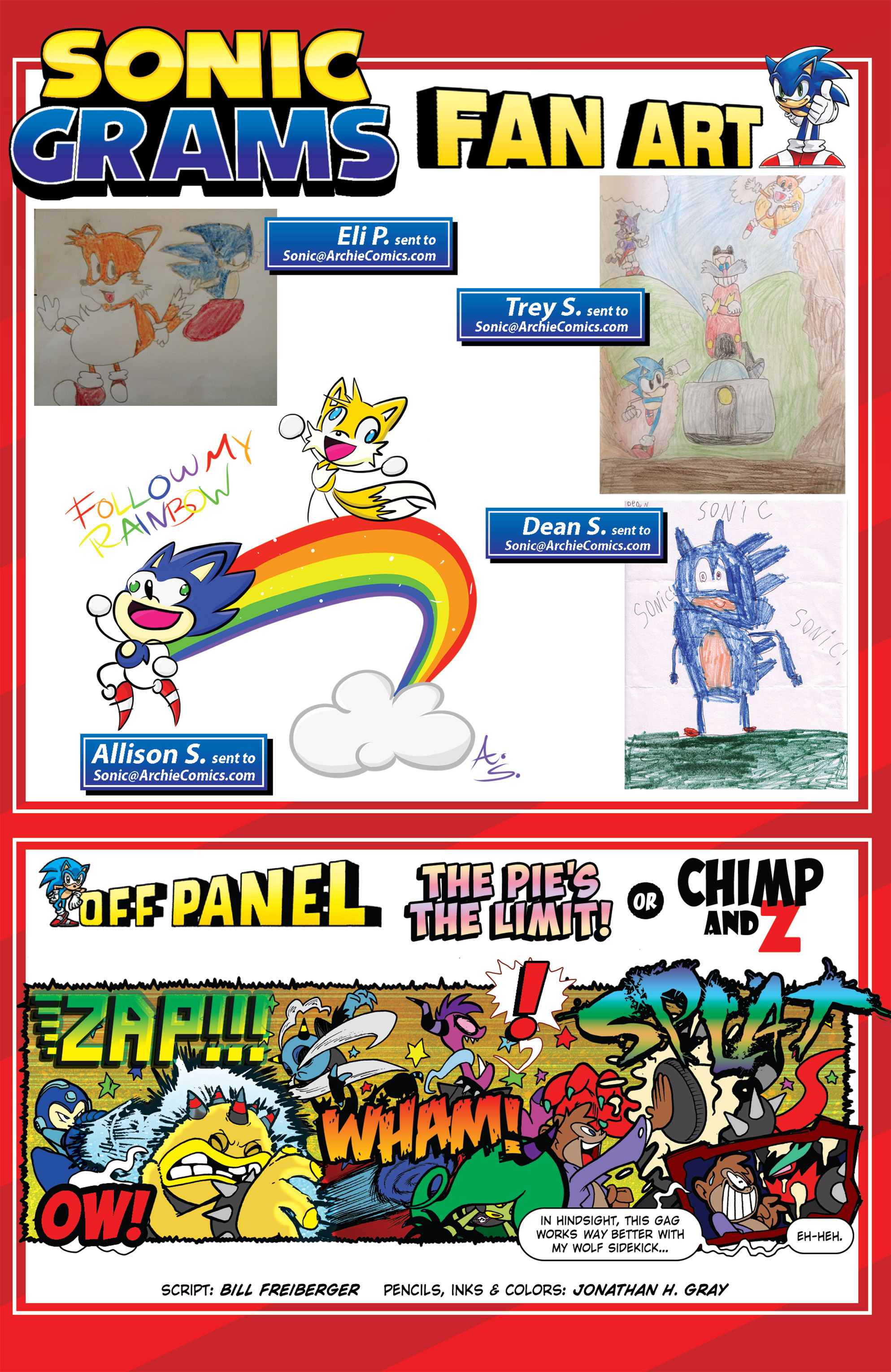 Read online Sonic The Hedgehog comic -  Issue #274 - 23