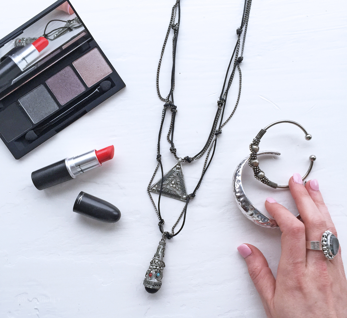 Boho Jewellery from Her Curiosity on the Rock On Holly Blog