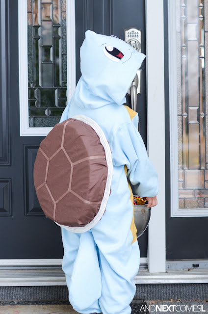 Homemade Pokemon Halloween costume from And Next Comes L