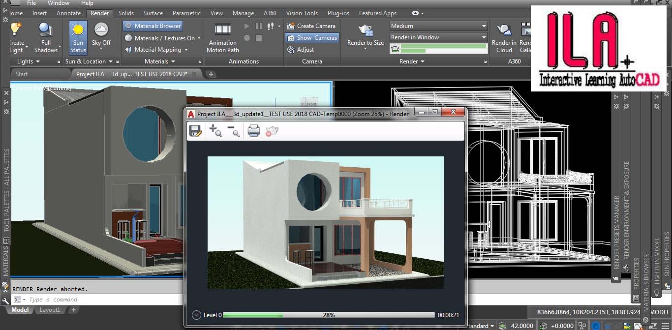 INTERACTIVE LEARNING AUTOCAD: 3d AutoCAD LEARNING