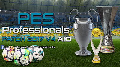 PES 2017 PES Professionals Patch 2017 AIO Season 2017/2018
