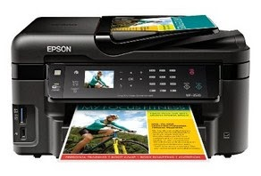 Epson WorkForce WF-3520 All-in-One Printer Driver Download