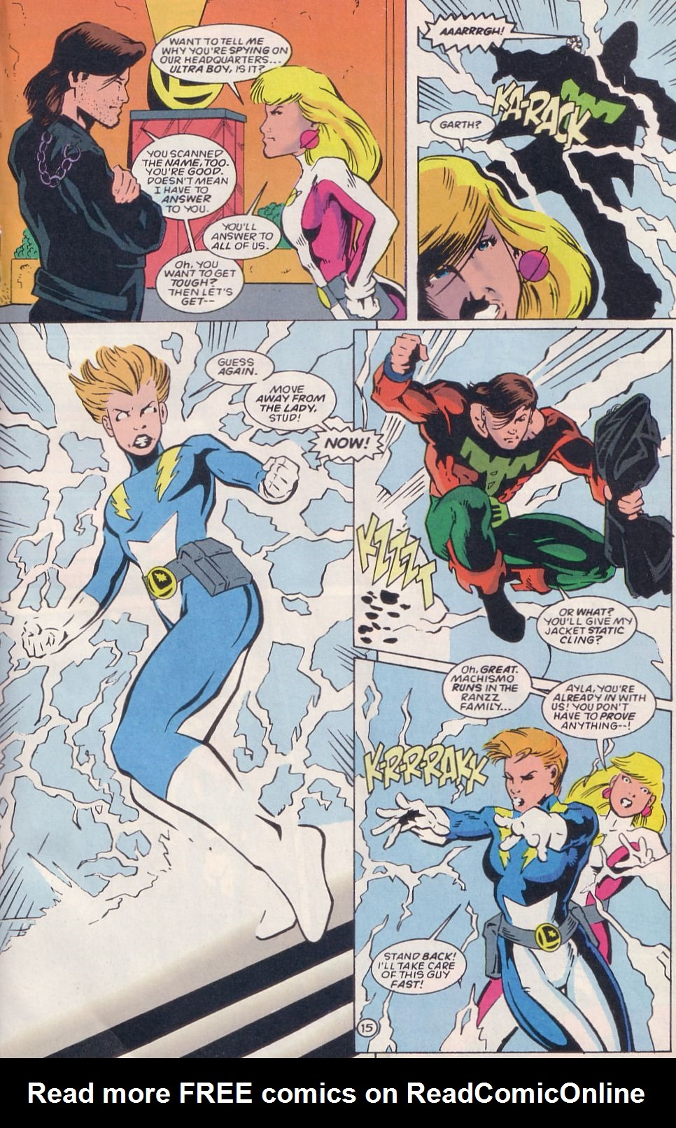 Legion of Super-Heroes (1989) 64 Page 15