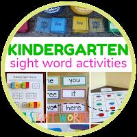 30+ Kindergarten Sight Words Games