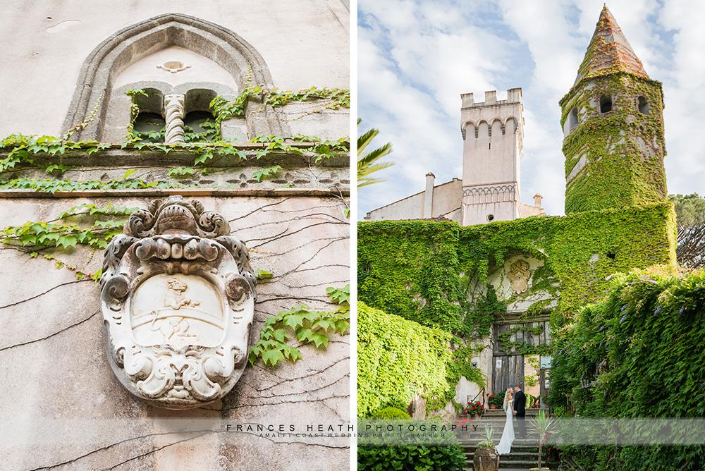 Villa Cimbrone architecture