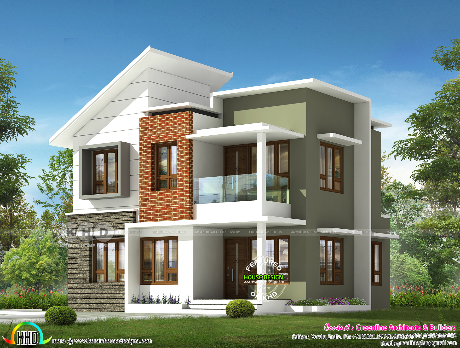 modern design of house - View Small House Plans Kerala Style 900 Sq Ft  Pics