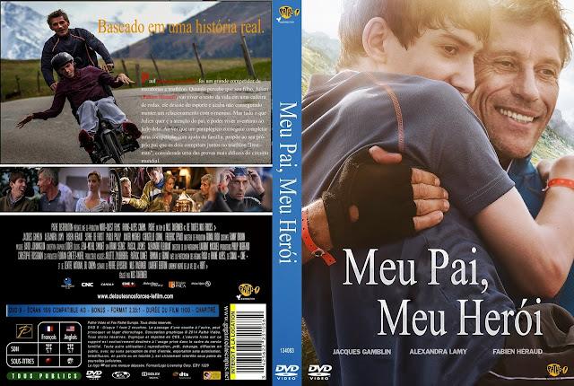 Capa DVD Meu Pai Meu Herói