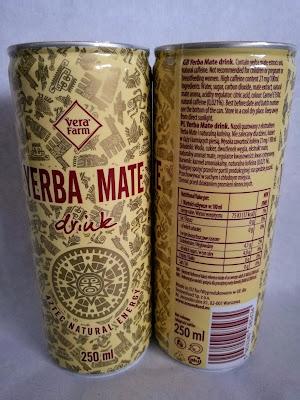 sklep zdrowa żywność, yerba mate drink, napój gazowany z naturalną kofeiną