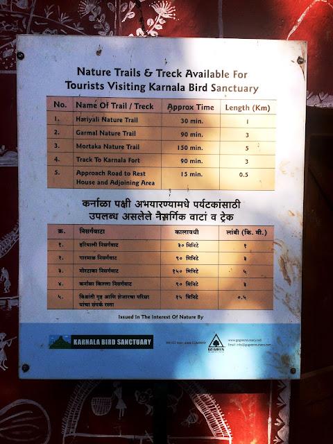 Karnala Fort hiking trails